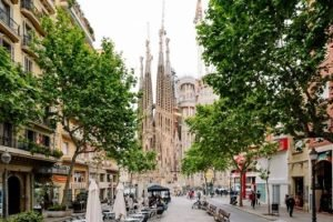 Sagrada Familia Barceloan City