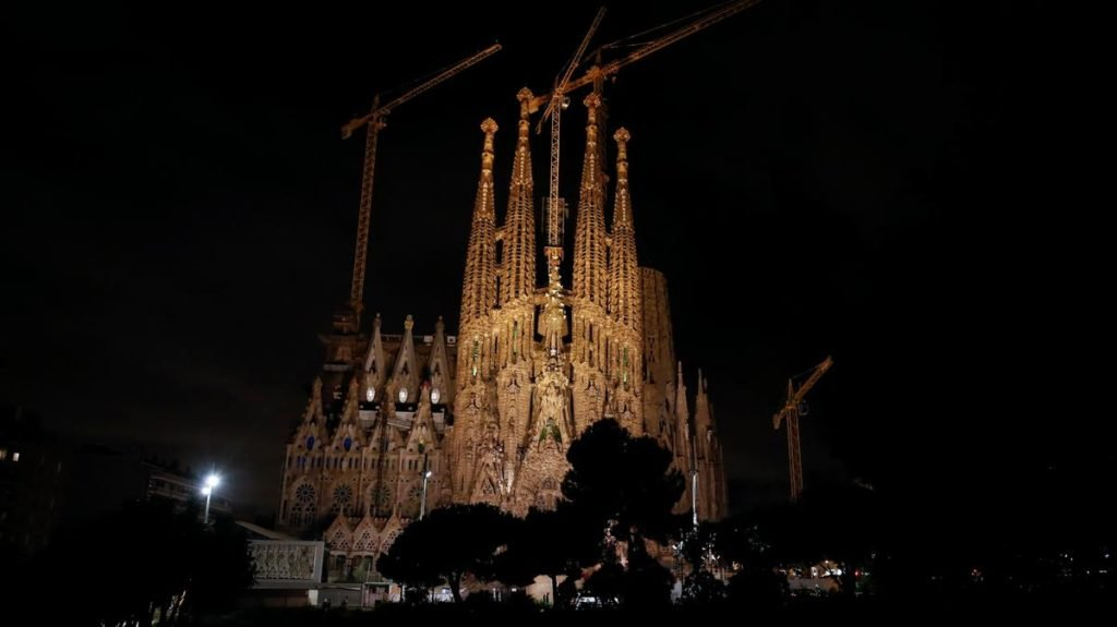 Sagrada Familia Night View