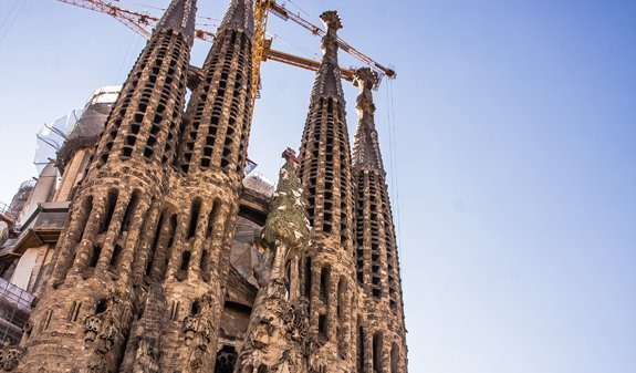 Sagrada Familia Cathedral Towers