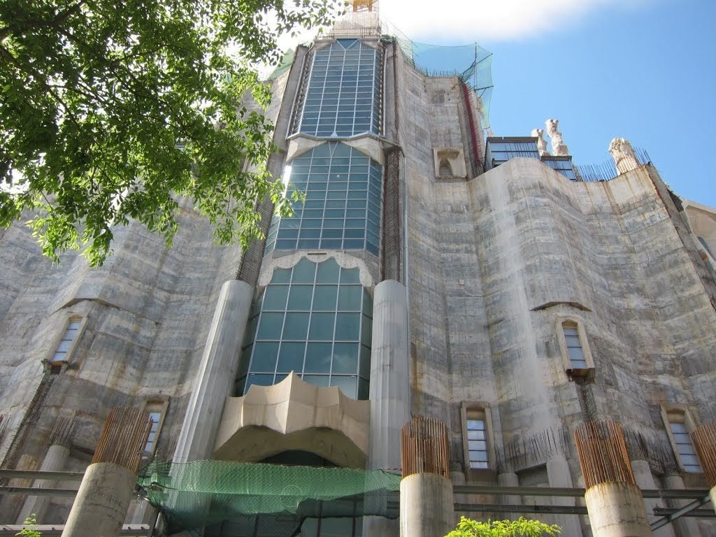 Glory Facade of Sagrada Familia